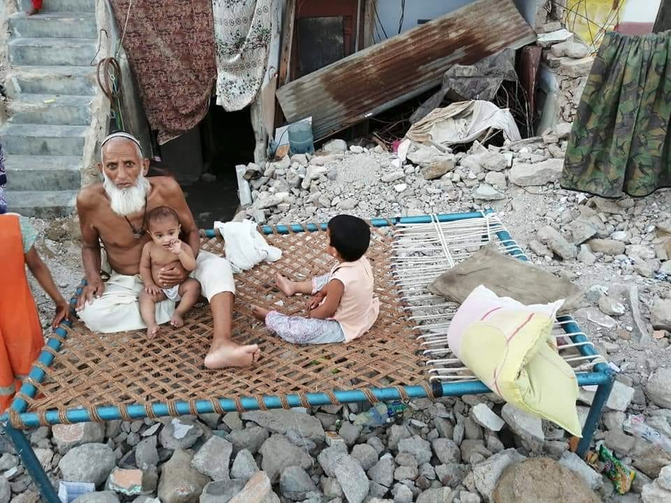 Pakistan demolished houses of Minority Mohajirs, Sindhis, Hindus and Christians on Eid day