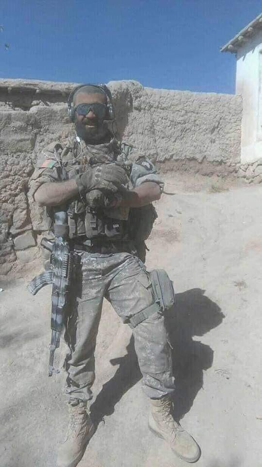 Afghanistan Army on an Operation