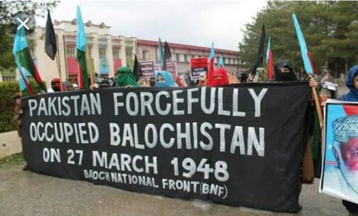 Protests in Pakistan Occupied Balochistan for Freedom of Balochistan while Pakistani Politicians are concerned with Internal matters of India.