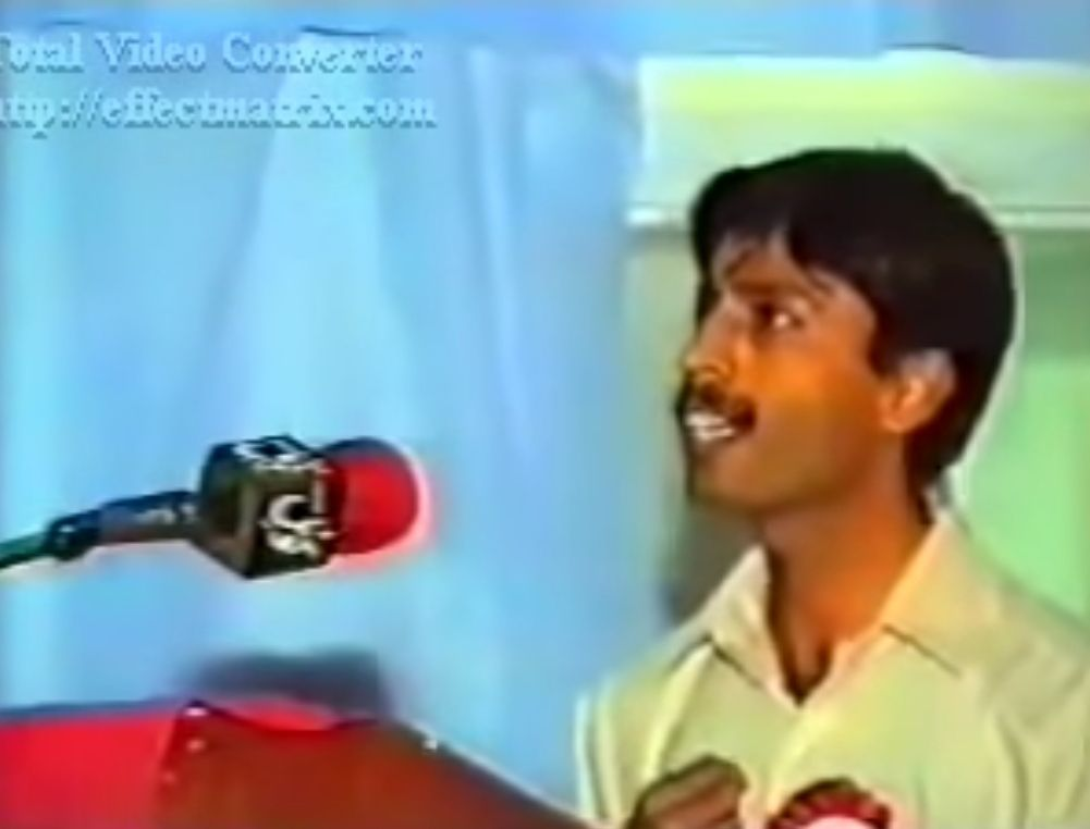 Baloch – Pakistan Permanent Conflict - Dr Allah Nazar Baloch during his BSO days
