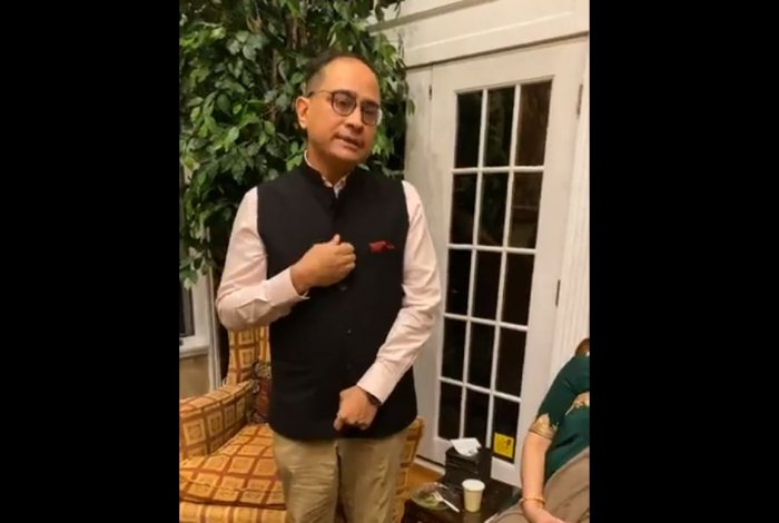 Indian Consul General in New York Sandeep Chakravorty
