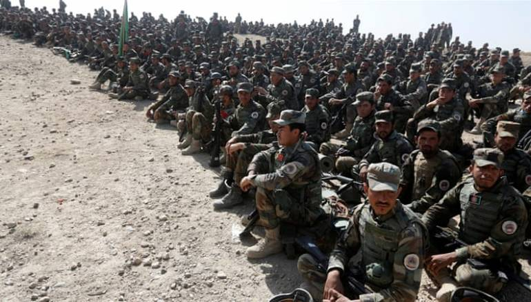 Afghan Security forces: Crackdown on Taliban Terrorists to continue