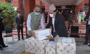 India's generous support of 23 tonnes of essential medicines to Nepal, to fight Chinese Virus COVID-19 Pandemic