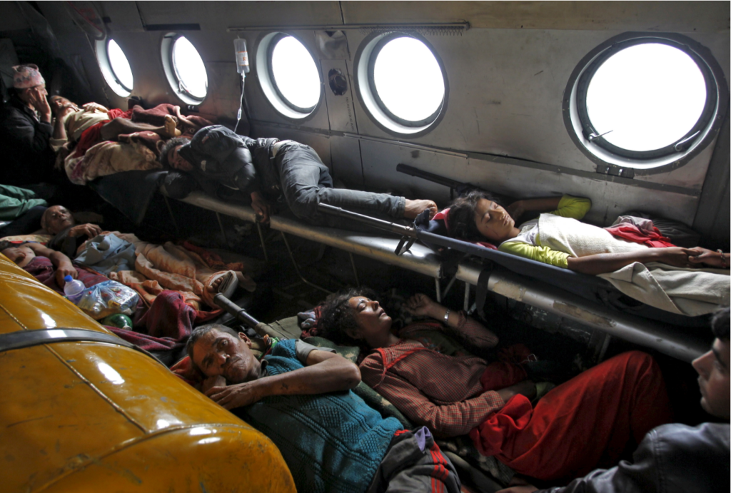 Forgotten Good Work of India: Over thousand Nepalese rescued by Indian Air Force IAF helicopters during 2015 Earthquake