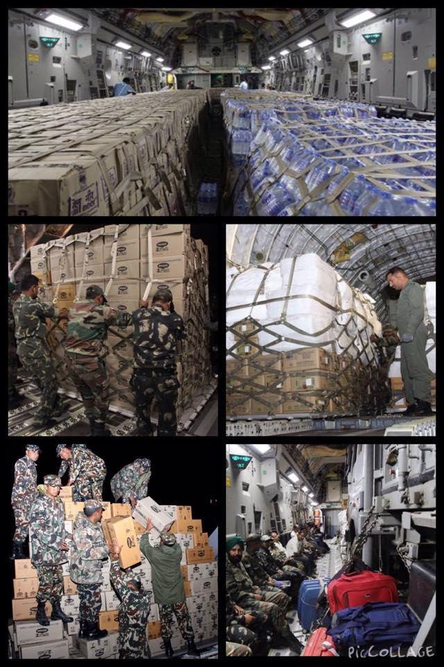 Forgotten Good Work of India: Hundreds of tonnes of water supplied during 2015 Earthquake in Nepal.