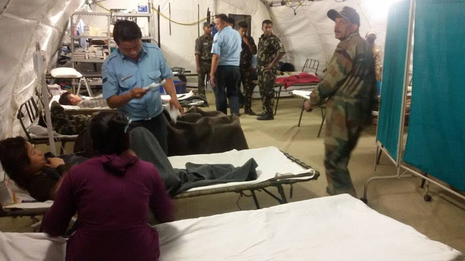 Forgotten Good Work of India: Health team of 30 was deployed at the Trauma Centre during Earthquake of 2015