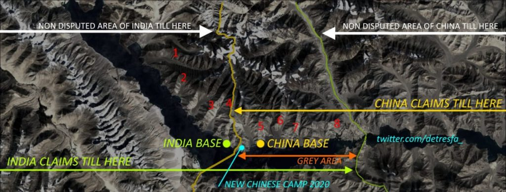 Current standoff between India and China in Ladakh explained in a picture