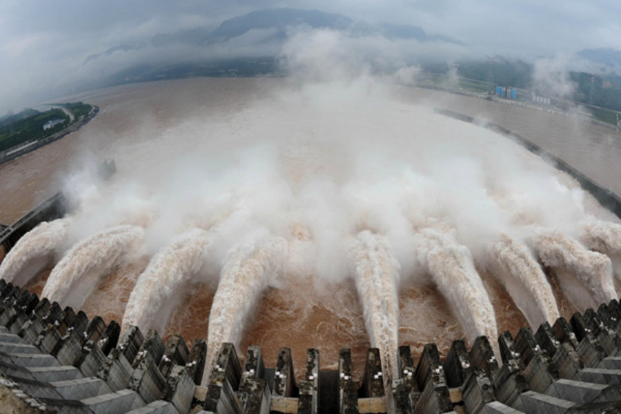 Chinese Communist CCP Flooding China To Save Three Gorges Dam.