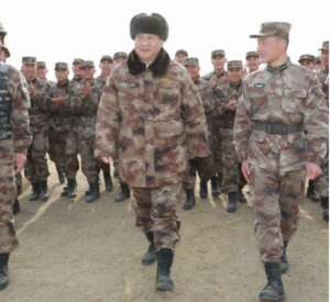 Chinese CCP Confirms A New War On The US: COVID-19: CCP China President Xi in Military attire