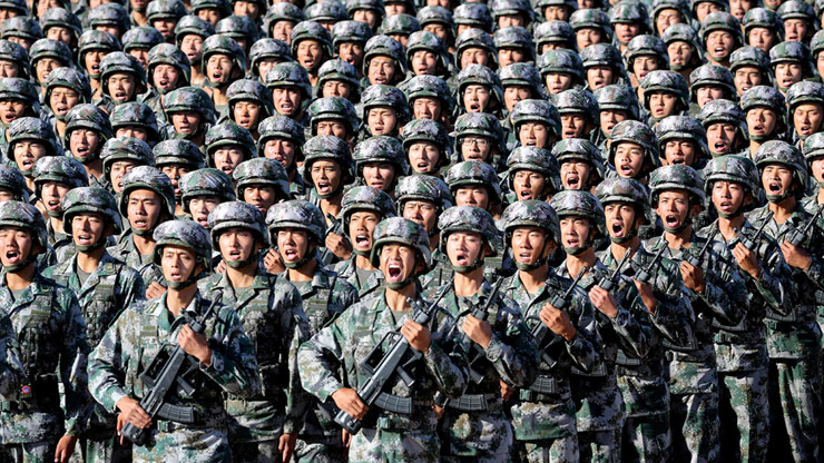Violent Face-off Between Chinese PLA and Indian Soldiers: Imperialist China ready to intimidate its neighbors by starting a war.