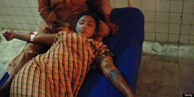On 6-June 2013 a Pakistani Christian, Bushra Waiz, a Pashto language singer and actor was attacked with acid in Nowshera