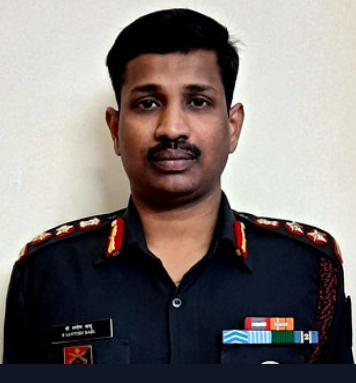 Chinese Aggression at Indian Border Fails: Unarmed Colonel B Santosh Babu killed by the out numbered coward armed Chinese soldiers
