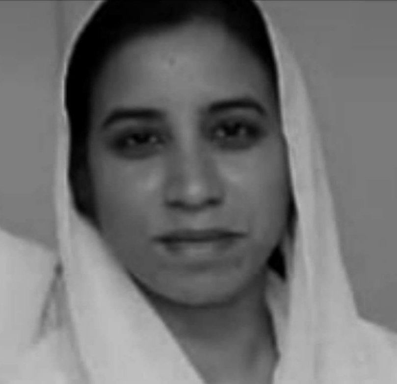 11 July 2019 Saima Sardar, A Christian shot and killed by an Islamist Radical after she refused to forcibly convert to Islam and marry him.