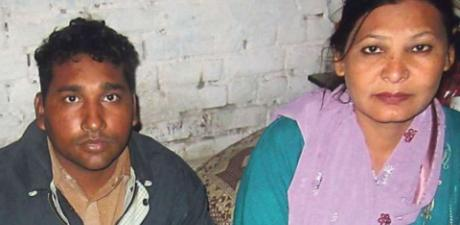 Shagufta Kausar and Shafqat Masih (a disabled) sentencwd to death under Section 295-C