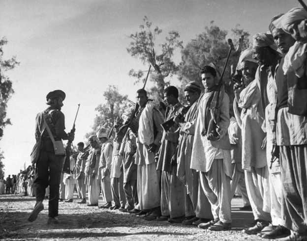 Islamist Radical Terroristan Pakistan Responsible for Bleeding Kashmir:  On 22-October 1947, Pakistan Army invaded Kashmir from the north with tribesmen militia