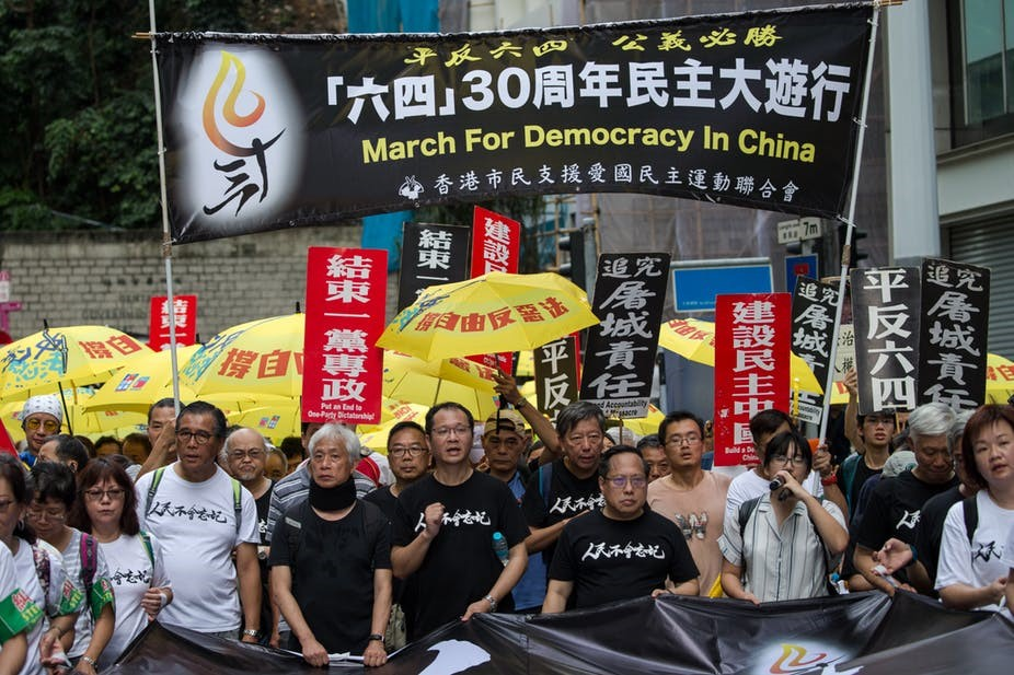 Chinese students and workers are uniting again, 30 years after Tiananmen Square crackdown