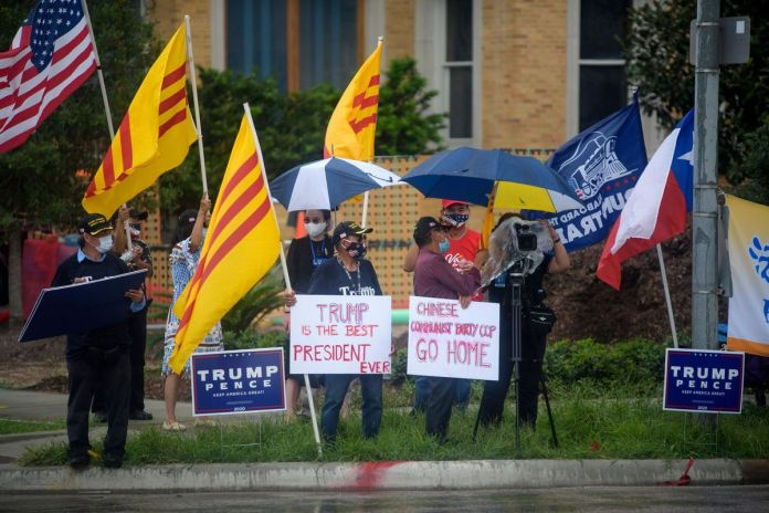 People Rejoice as China Vacates Houston Consulate.