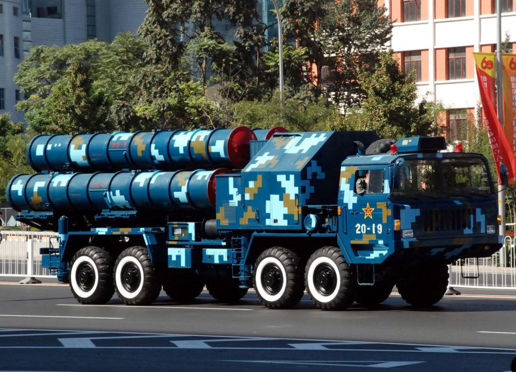Russia Accused China of Spying and Illegally Copying Russian Military Hardware and Weapons: Chinese HQ-9 surface-to-air missiles that is based on stolen technology from Russian S-300 missile systems