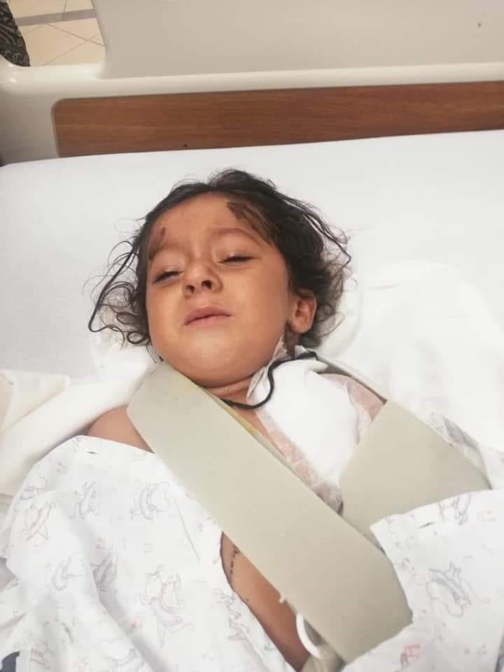 Balochistan Human Rights Report June 2020: 4-year old Bramsh was shot in her chest by Death Squad members in Turbat, Balochistan.