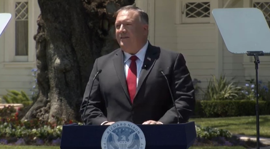 Securing our freedoms from the Chinese Communist Party is the mission of our time : Secretary of State Mike Pompeo