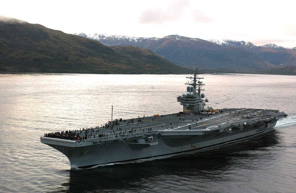 Horrible Surprise Coming : Experts Warn US-China Military Clash Within Six Months. China Cannot Be Allowed To Treat The SCS As Its Maritime Empire. USS Ronald Reagan in South China Sea