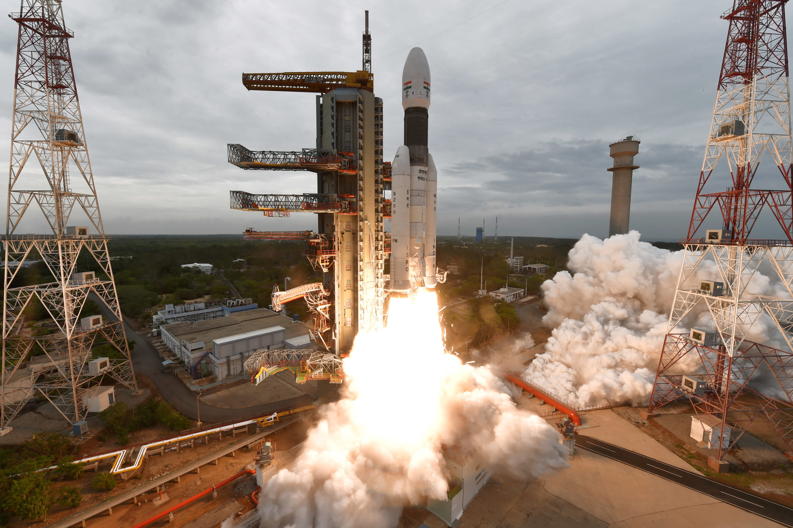 ISRO Space Mission: Chandrayaan 2 Space Vehicle Lift Off image