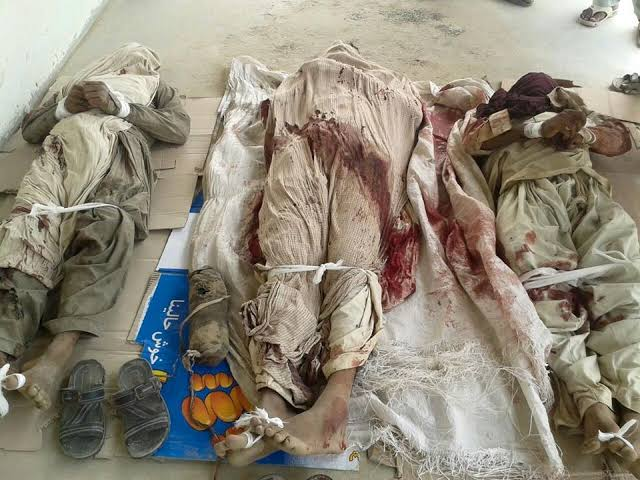 Pakistani Army Barbarism Continues. More and more dead bodies being recovered of Missing Persons abducted by Pakistan Army.