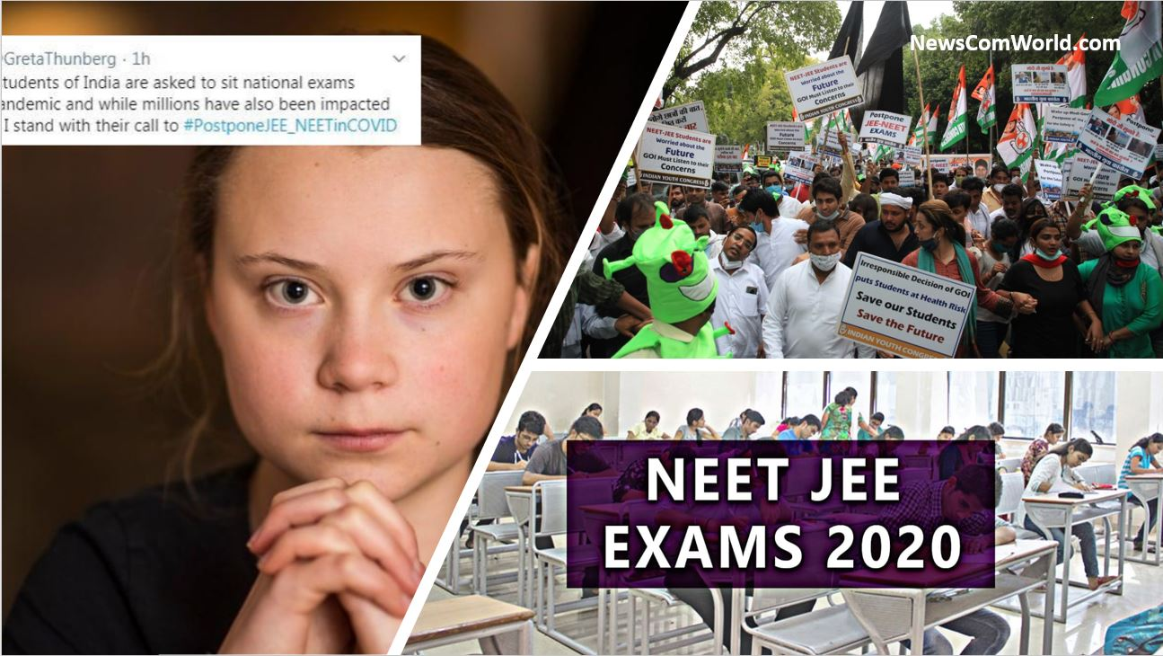 NEET-JEE Exams In India : What Business Do Leftist/Liberals And Pakistanis Have In Opposing Exams by India?