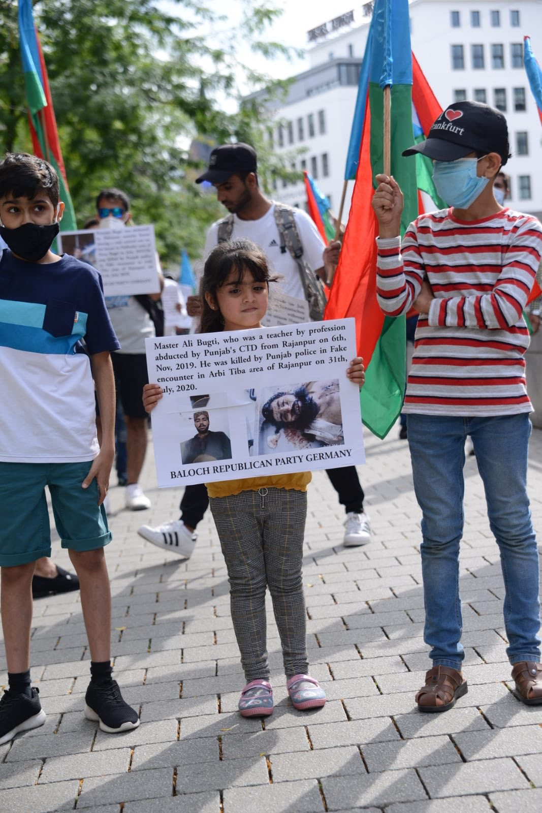 Freedom Fighters in Balochistan Kill 7 Pakistan Army Soldiers; Pakistan Army Retaliates By Killing 5 Bugti Tribesmen in Fake Encounters: Protests in Hanover, Germany
