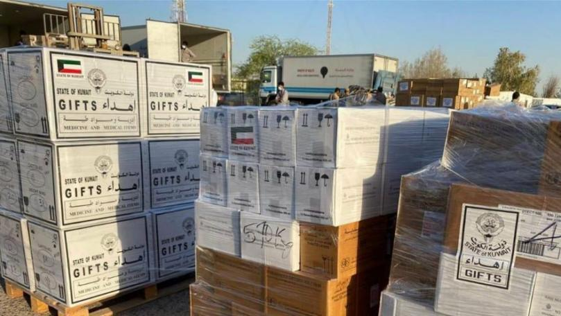 Aid being Dispatched by Kuwait to Beirut, Lebanon