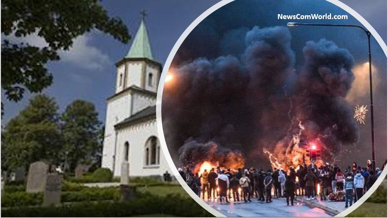 Did Leftist/Liberal News Media Mention That Quran Burning In Malmo-Sweden was preceded by Radicals Desecrating A Church For Seven Days In A Row?