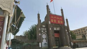 China Razed A Xinjiang Village Mosque And Erected Public Toilet On The Site