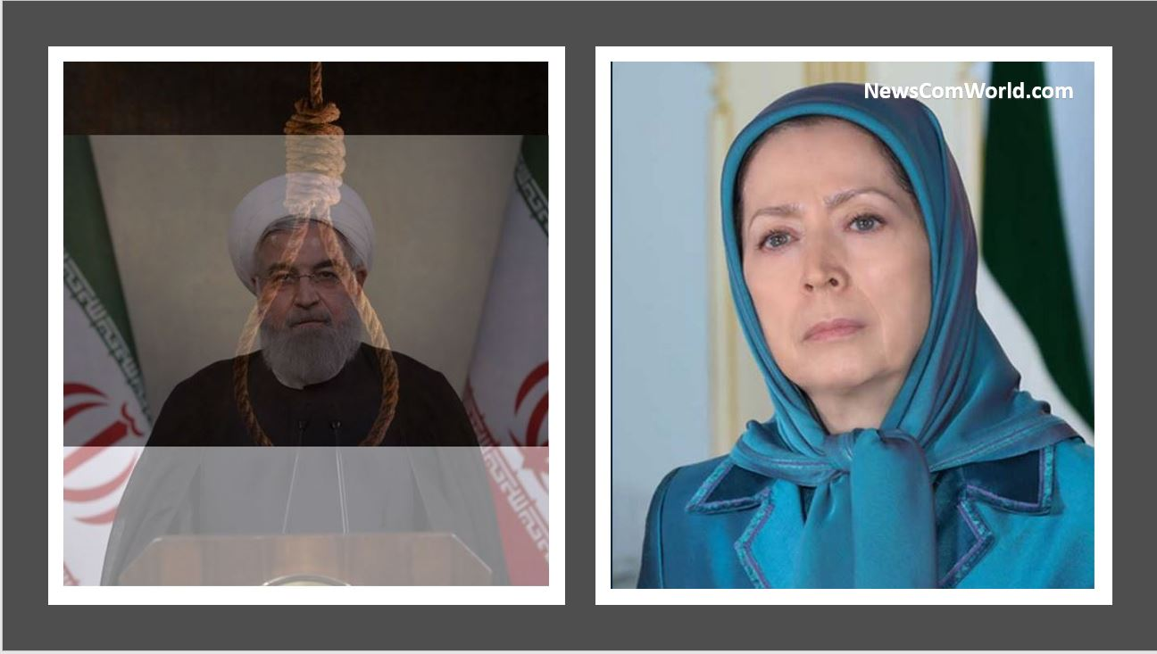 Protests and uprisings Of Brave Iranian People will Topple The Mullahs' Criminal Regime In Iran : Maryam Rajavi