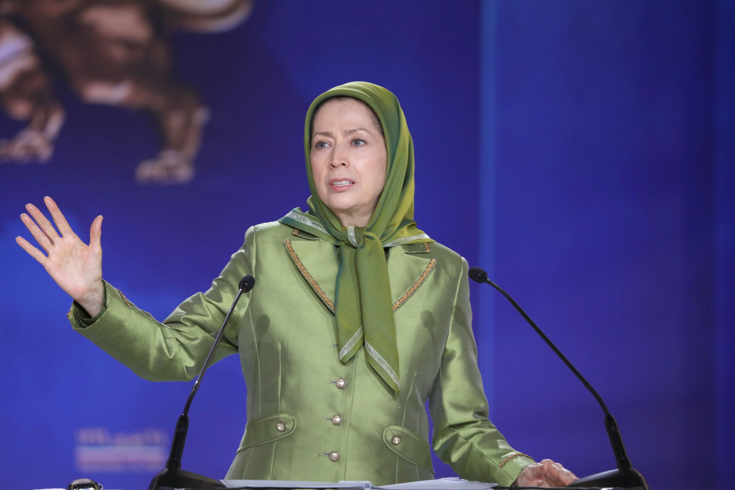 Maryam Rajavi Called for Comprehensive Embargo Against Religious Dictatorship in Iran. Accused it of Exporting Terrorism & Terror Financing in Other nations