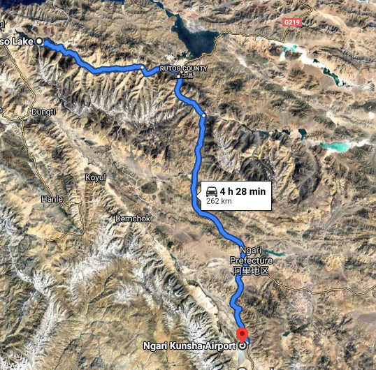 Rudderless China Shocked As India Makes Readjustments On LAC :Nearest town from Spanggur Tso area accessible to Chinese CCP PLA is Ngari Kunsha, which is 262KM away.