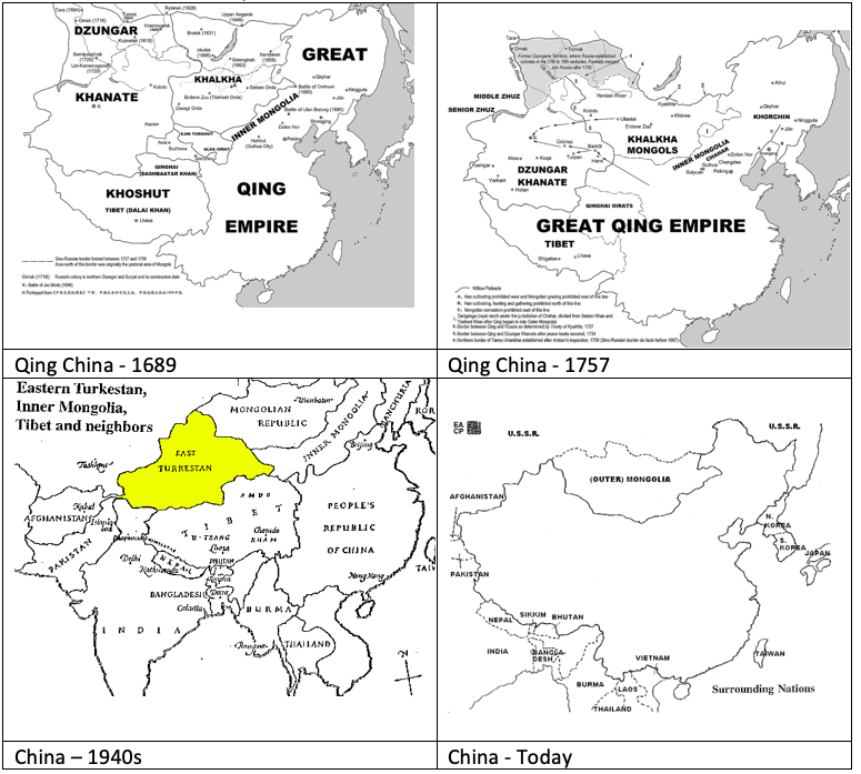 The Stronger China Becomes, the Weaker it Becomes : Qing China