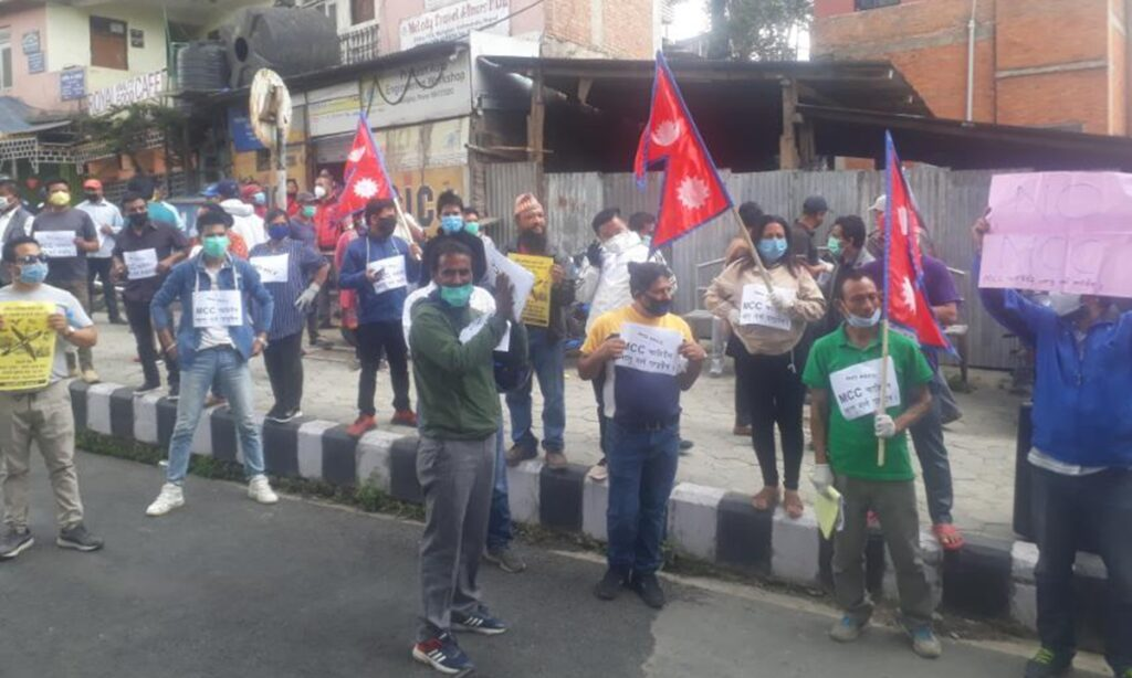 Anti-India Protests organized by Communists in Nepal funded by China - Where is the scare of Chinese Coronavirus in May/June Protests?