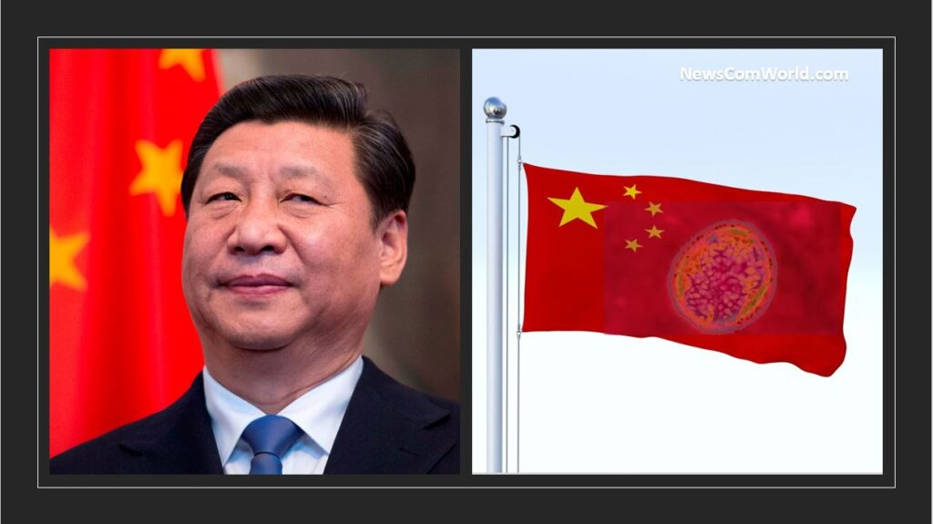 China using Bio-Warfare as a Means to Reduce Population Explosion.