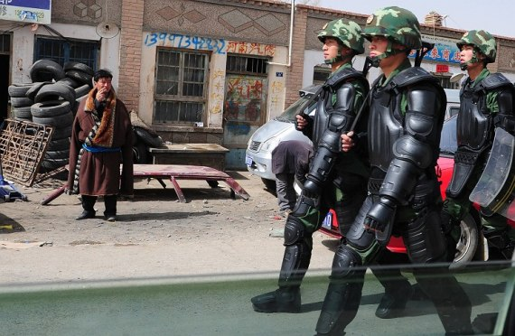 Increased Patrols by CCP Police in China Occupied Tibet