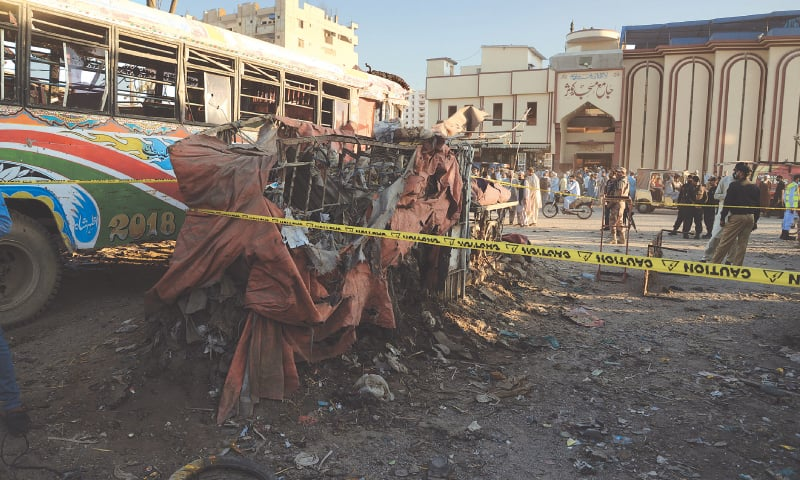 Pakistan a Disaster : IED blast at Sheerin Jinnah bus terminal