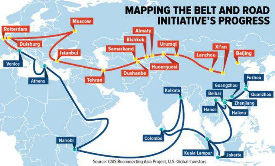 Axis of Evil China, Iran and Pakistan Connected via CPEC