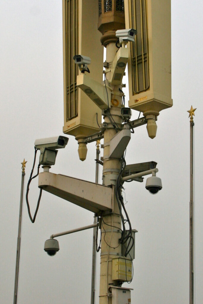 CCTV Cameras used in China Occupied Tibet to monitor every activity
