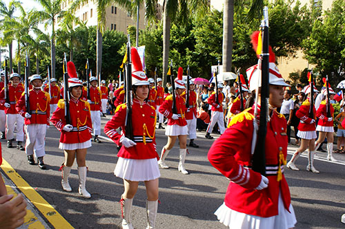 China Thinks It can Prevent The World From Celebrating Republic of China (Taiwan) National Day : Scene from previous National day parades in Taiwan