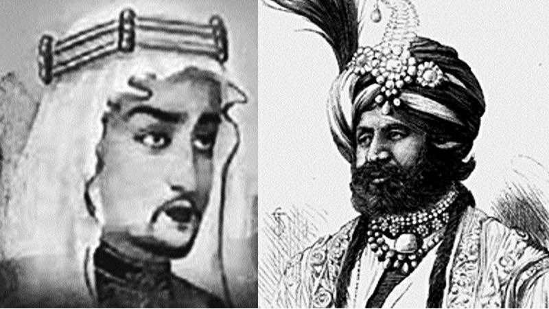 Pakistan is Killing Sindhi Hindus And Vandalizing Temples In Sindhudesh :  Muhammad Bin Qasim (Left). Raja Dahir Sen, the last Sindhi Hindu king of Sindhudesh (Right)