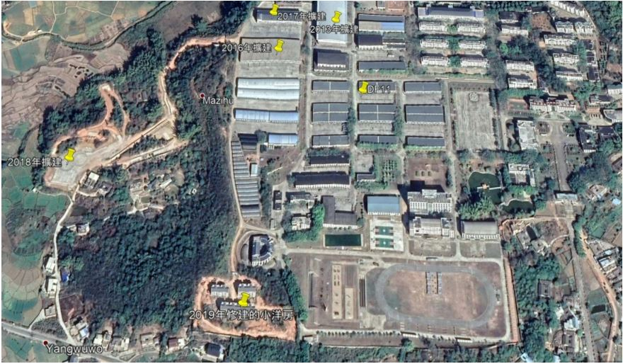 Communist China threatens Democratic Taiwan with Invasion : Will US Protection be sufficient? A satellite image shows how a base in Puning in Guangdong has expanded in recent years.
