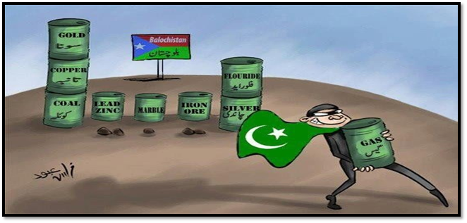 Pakistan A Garrison State : Pakistan Army Looting all natural resources from Occupied Balochistan