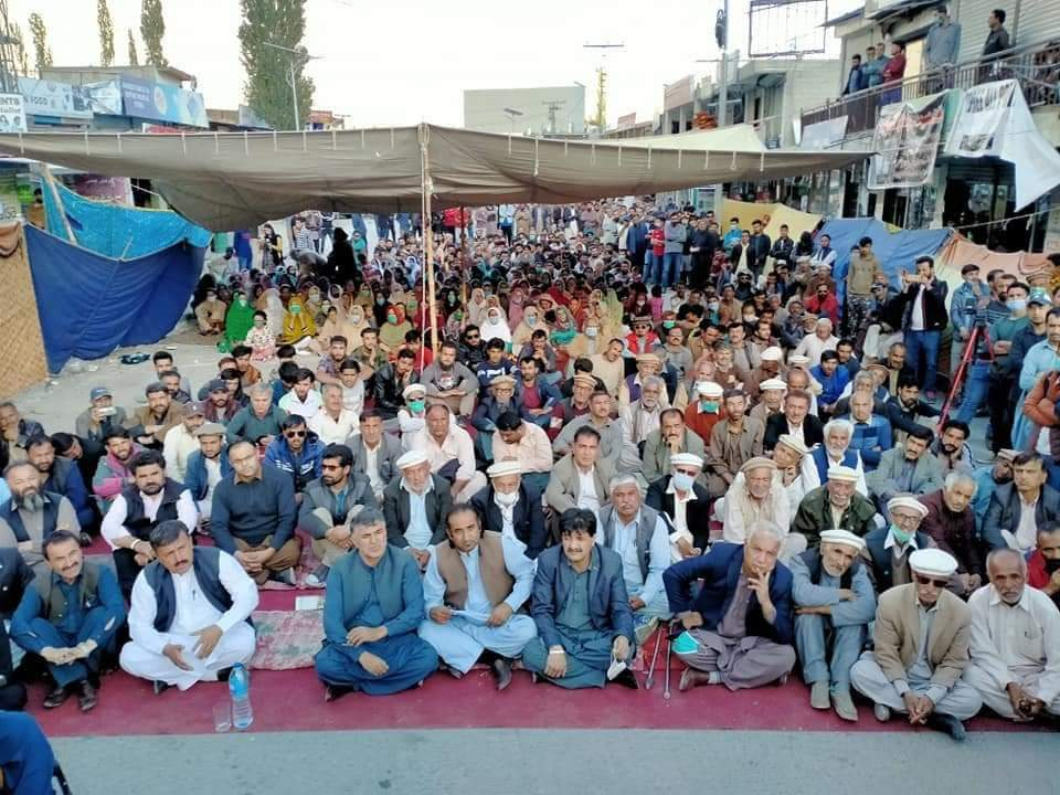Massive Protests in Pakistan Occupied Gilgit-Baltistan against Pakistan