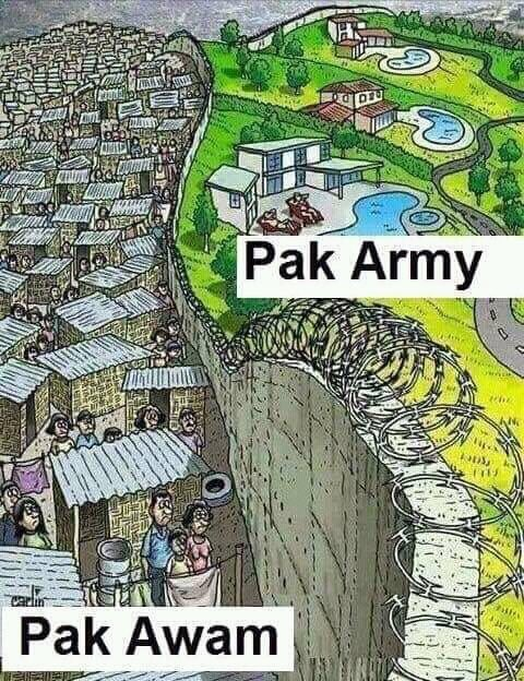 Pakistan A Garrison State – Sharp Contrast between the living standards of Pakistan Army Officers and ordinary civilians