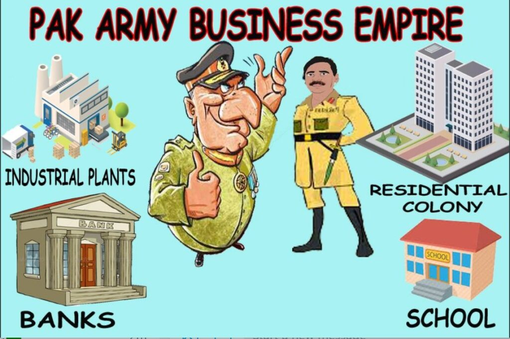 Pakistan A Garrison State – Pakistan Army's Fauji Foundation owns business empire worth over $100 Billion