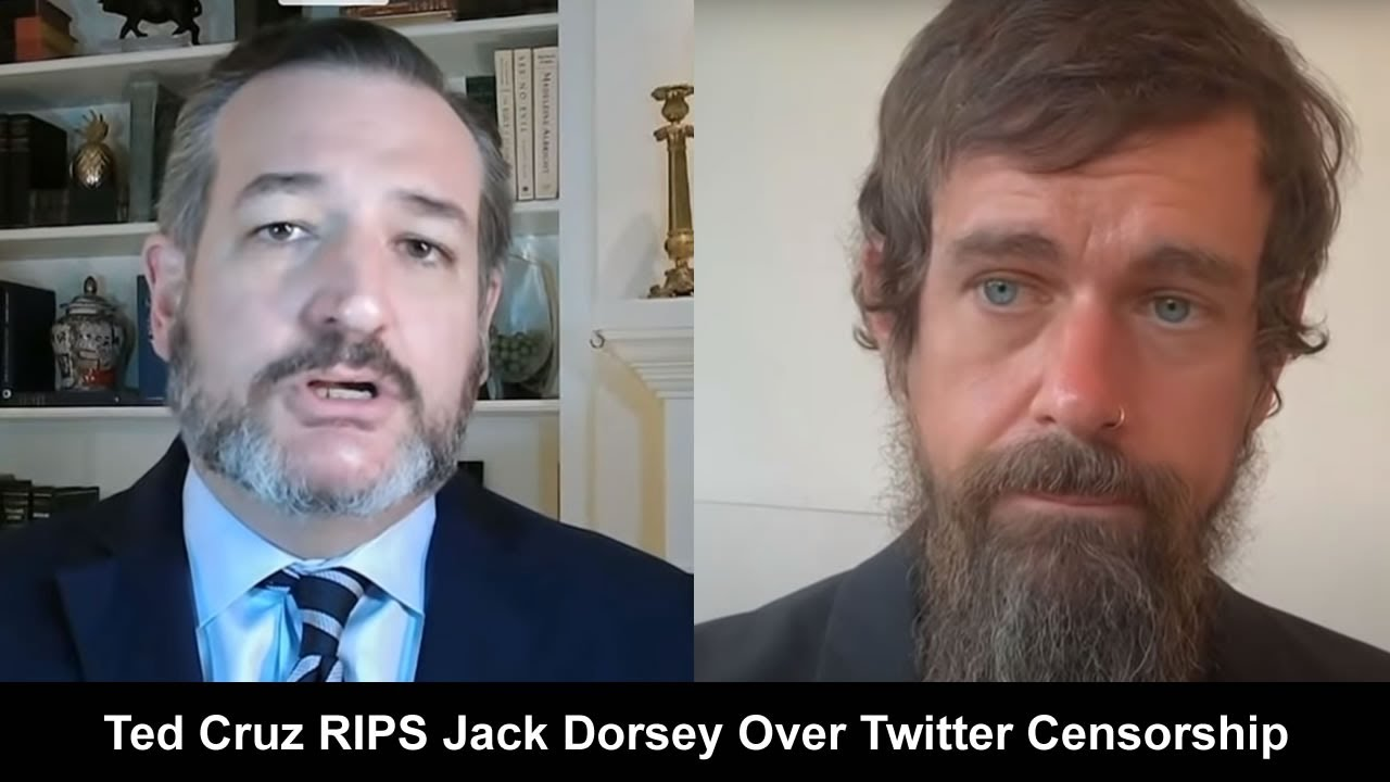 Ted Cruz Nailed It On Twitter Censorship, The Single Greatest Threat To Free Speech